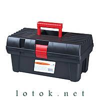 Ящик для инструмента 415х225х220 мм, пластик, цвет чёрный
