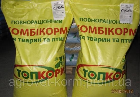 ТопКорм для курчат вiд 8 до 20 тижнiв, 25 кг