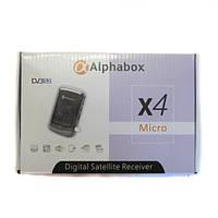 Спутниковый ресивер Alphabox X4 Micro HD