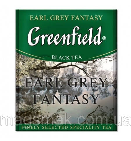 Чай Greenfield Earl Grey Fantasy (HoReCa), 100 пакетов