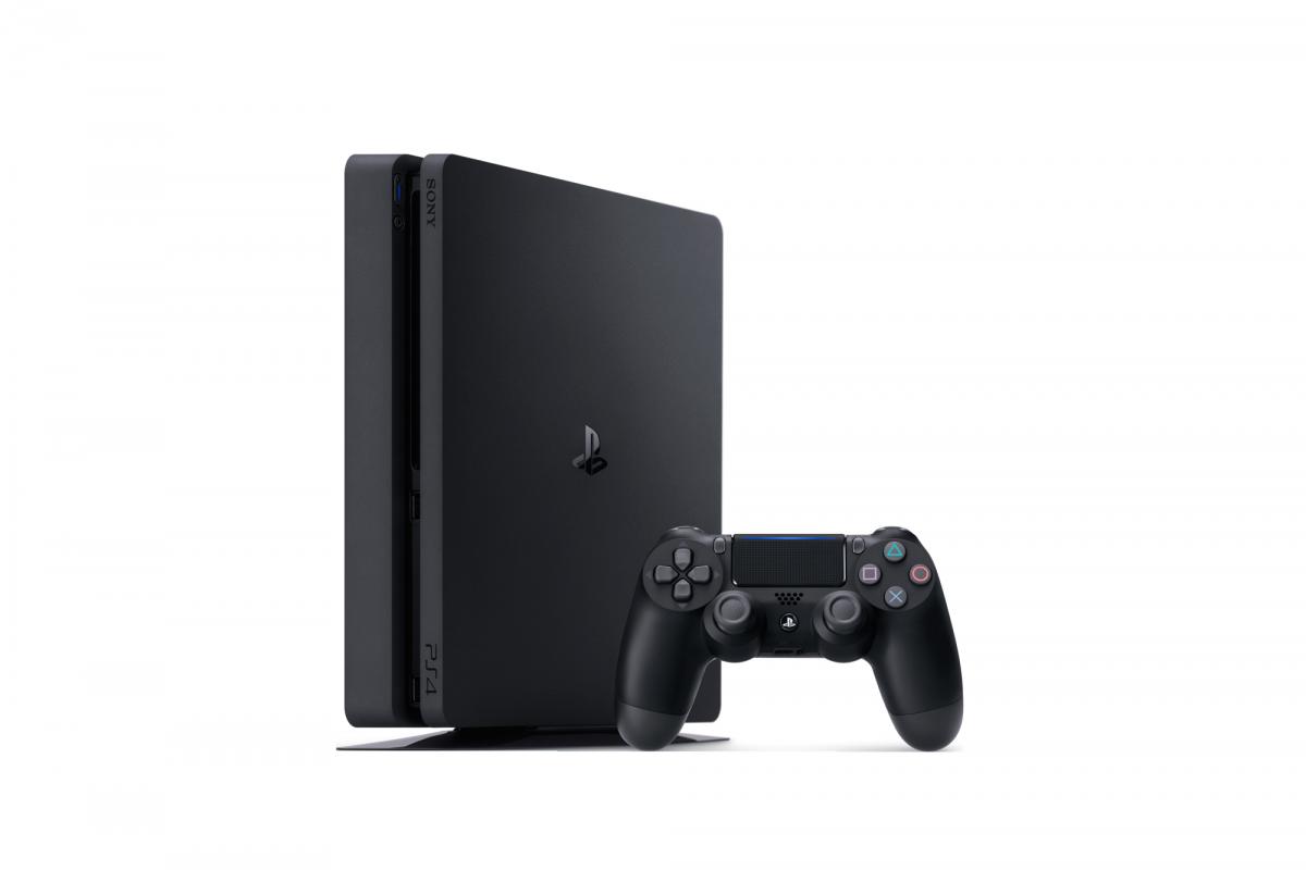 Sony Playstation 4 Slim 1TB + игра Horizon Zero Dawn + PSN 90 дней, фото 1
