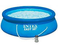 Бассейн INTEX Easy Set + фильтр-насос, 396х84 см 28142