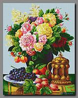Схема для вышивки бисером Букет с фруктами