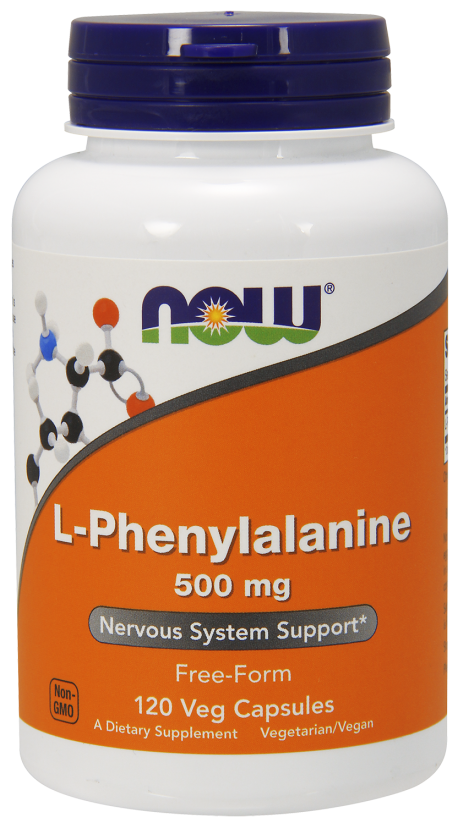 Now L-Phenylalanine 500 mg 120 сaps