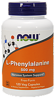 Now L-Phenylalanine 500 mg 120 сaps