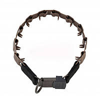 Sprenger NECK-TECH SPORT строгий ошейник для собак, пластинчатый, с замком ClicLock, нержавеющая сталь, 60 см
