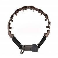 Sprenger NECK-TECH SPORT строгий ошейник для собак, пластинчатый, с замком ClicLock, нержавеющая сталь, матт, 60 см