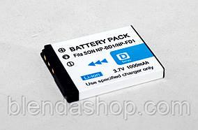 Аккумулятор NP-BD1 (NP-FD1) - аналог для фотоаппаратов Sony - 1000 ma