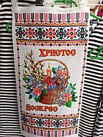 Декоративные белые полотенца