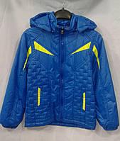 Куртка  демисезонная для мальчиков 6-10 лет,электрик