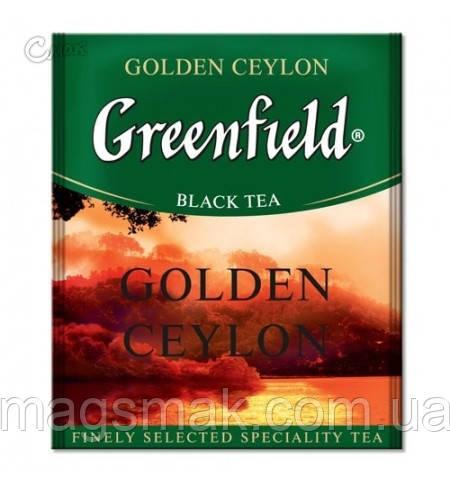 Чай Greenfield Golden Ceylon (HoReCa), 100 пакетов