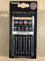 """Зарядний пристрій PANASONIC BQ-CC55E Smart&Quick charger + 4хАА2450мАһ """"Eneloop"""""""