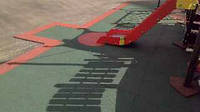 Покрытие из резиновой крошки для открытых площадок