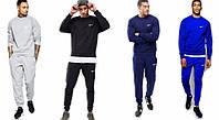 Спортивный костюм Nike серый, модный хлопковый, для спорта,ф5029