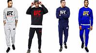 Спортивный костюм UFC, синий, черный, серый цвет, ф5069