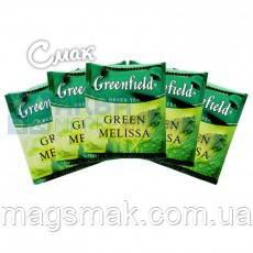 Чай Greenfield Grenn Melissa (HoReCa), 100 пакетов, фото 2