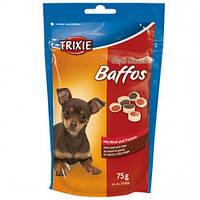 Trixie TX-31494 Soft Snack Baffos 75г - лакомство с говядиной и рубцом для собак мини пород и щенков
