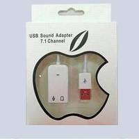 Звуковая карта USB 2.0 7.1 канальная