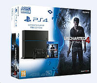 Sony Playstation 4 1TB + игра Uncharted 4: A Thief's End, фото 1