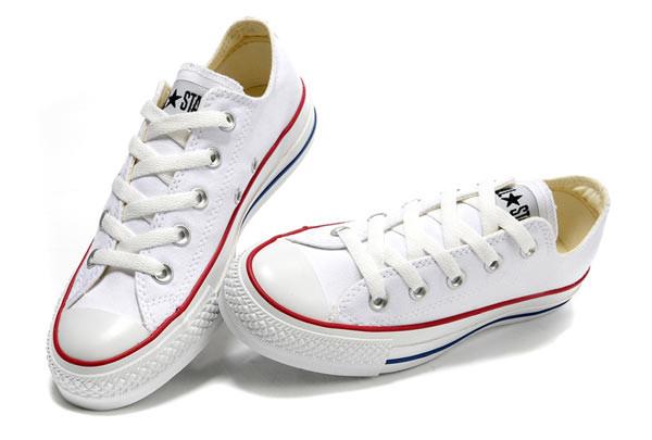41b61fe53e44 Белые Низкие Мужские Кеды Converse (Конверс) All Star — в Категории ...