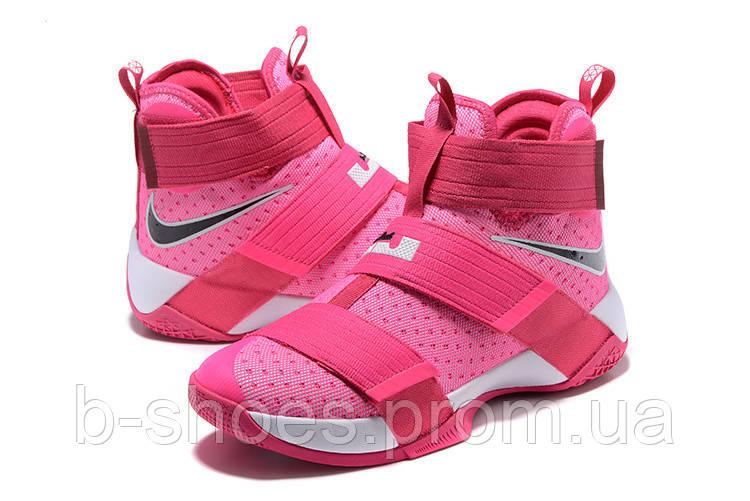 Детские баскетбольные кроссовки Nike LeBron Zoom Soldier 10 (Kay Yow)