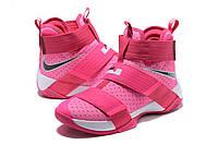 Детские баскетбольные кроссовки Nike LeBron Zoom Soldier 10 (Kay Yow), фото 1