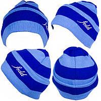 Футбольная шапка, сине-голубая, ф5124