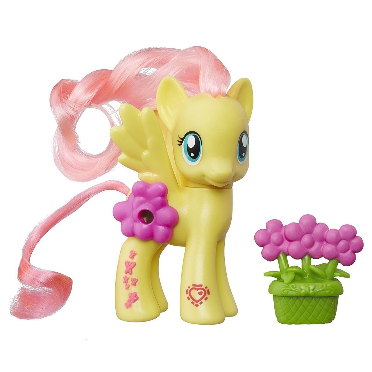 My Little Pony Игровой набор Пони с волшебными картинками Флаттершай Explore Equestria Magical Scenes Fluttershy