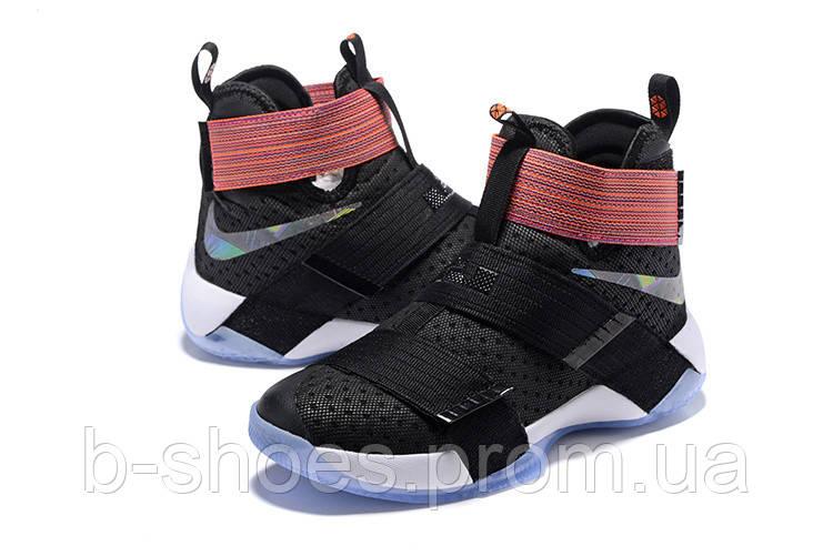 Детские баскетбольные кроссовки Nike LeBron Zoom Soldier 10 (Unlimited)