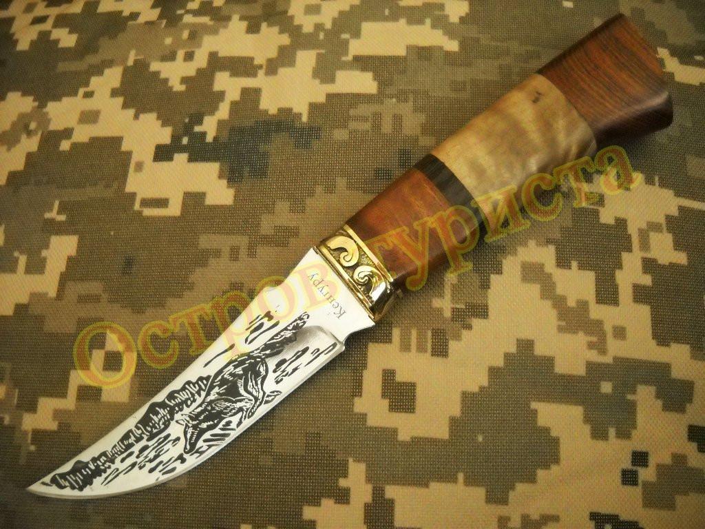 Нож охотничий Кенгуру сталь 65х13