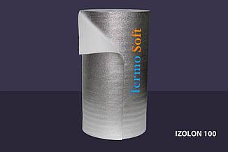Вспененный полиэтилен НПЭ фольгированный, толщина полотна-2мм.