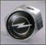 Колпачки на ниппель в блистере (4 шт.+ ключ) OPEL