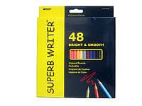 Карандаши цветные 48 цветов, Marco Superb Writer, 4100-48CB, 245265