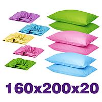Простыни на резинке 160х200х20 + наволочки