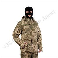 Военная куртка - ветровка, парка ветро- влагозащитная демисезонная ВСУ пиксель