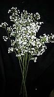 Искусственные цветы - гипсофил, выс. 60 см., 20/15 (цена за 1 шт. + 5 гр.)