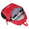 Рюкзак Adidas красный с белым логотипом (реплика), фото 4