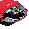 Рюкзак Adidas красный с белым логотипом (реплика), фото 5