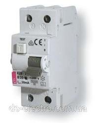 Диффер. автоматический выкл. KZS-2M B 16/0,03 тип AC (10kA)