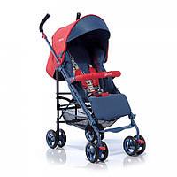 Детская коляска трость Geoby D388W- F-R4RC синяя с красным купить оптом и в розницу в Украине 7 км