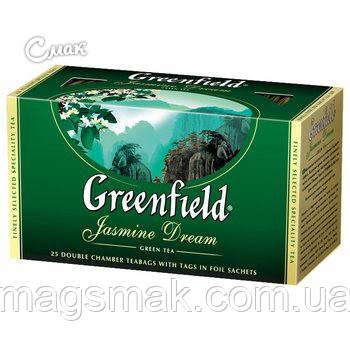 Чай Greenfield Jasmine Dream, 25 пакетов, фото 2