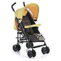 Детская коляска трость Geoby D349E- WFHH желтая с коричневым купить оптом и в розницу в Украине 7 км