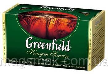 Чай Greenfield Kenyan Sunrise, 25 пакетов, фото 2