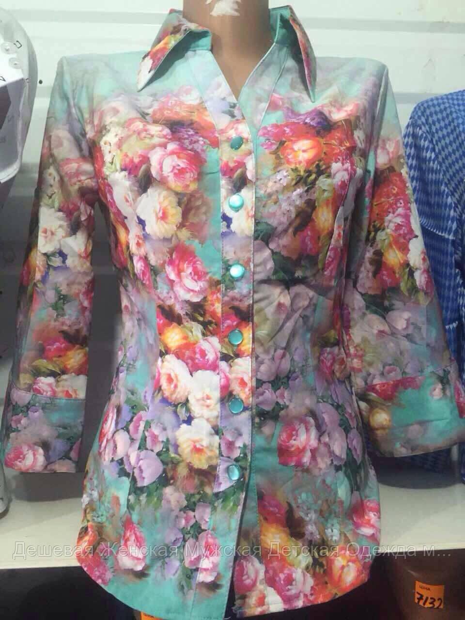 Женская блузка весна