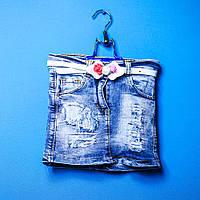 Джинсовые юбки Eleysa 7045-2 для девочки 6-10 лет
