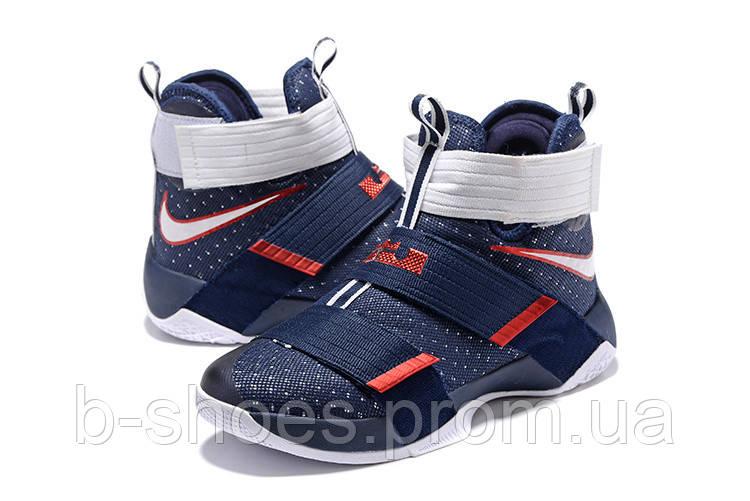 320e12f7 Детские баскетбольные кроссовки Nike LeBron Zoom Soldier 10 (USA) - B-SHOES  в