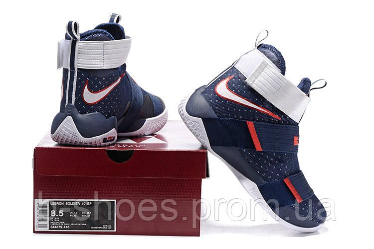 ... Детские баскетбольные кроссовки Nike LeBron Zoom Soldier 10 (USA) 3eaef81c9ae51