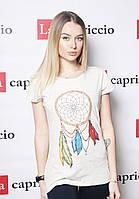 Стильная модная женская футболка с рисунком ЛОВЕЦ СНОВ
