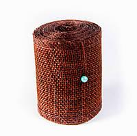 Лента из мешковины, цвет коричневый, 5см, длина 2 м