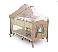 Детская кровать манеж Milly Mally Mirage Delux   Pink Lion Польша